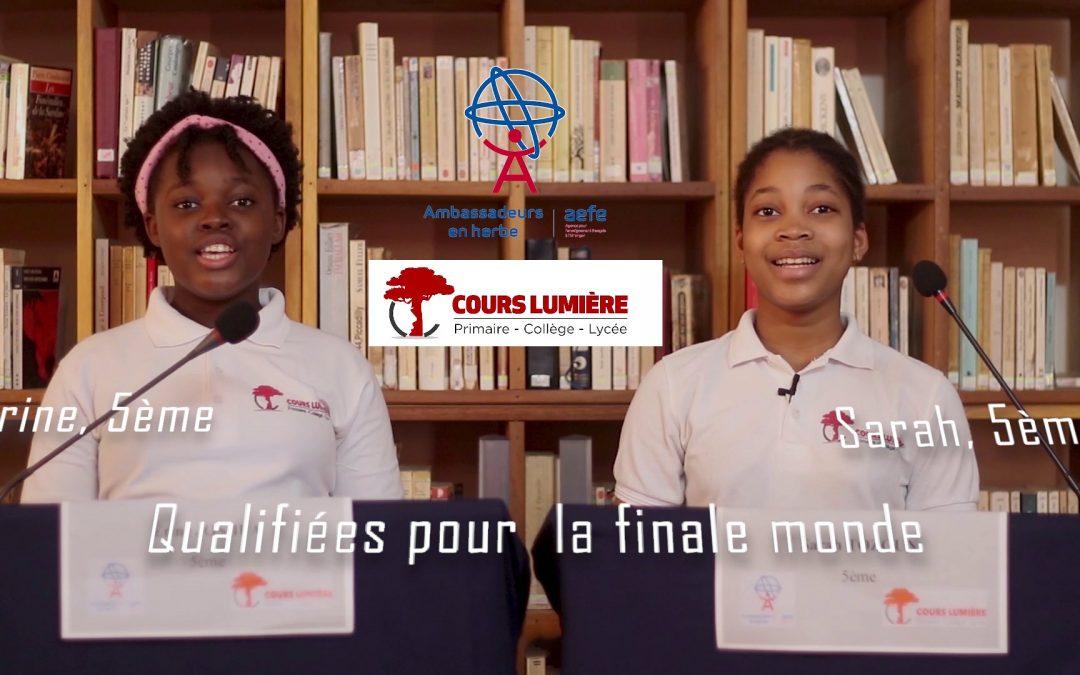 Ambassadeur en herbre 2021: quatre lauréates qualifiées pour la finale monde